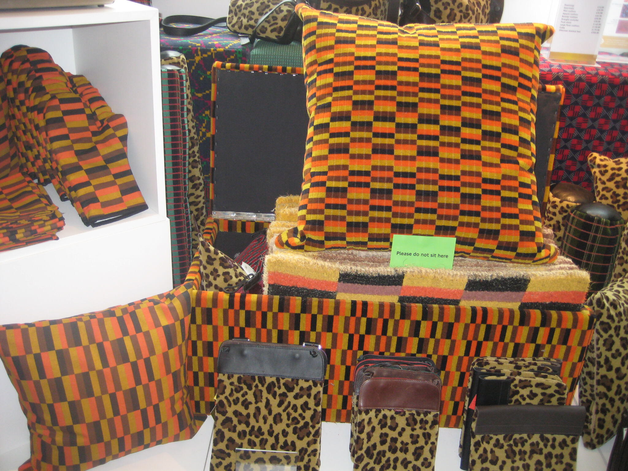 Innovative retailer london transport museum retail insider for London underground moquette