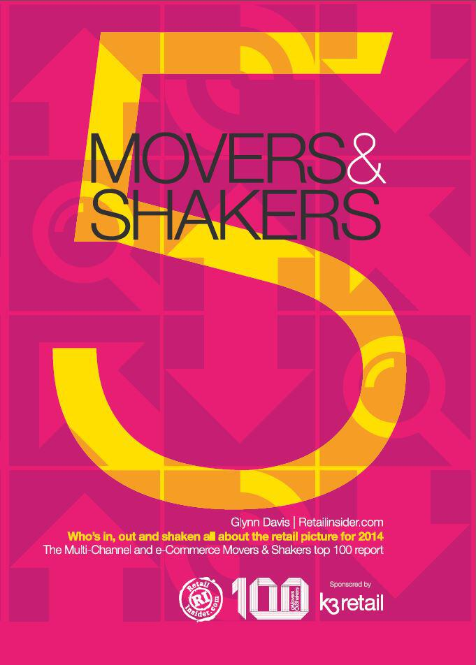Movers and Shakers 2014 Front Cover